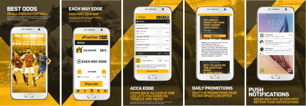 Betfair Mobile App Review Apr 2020