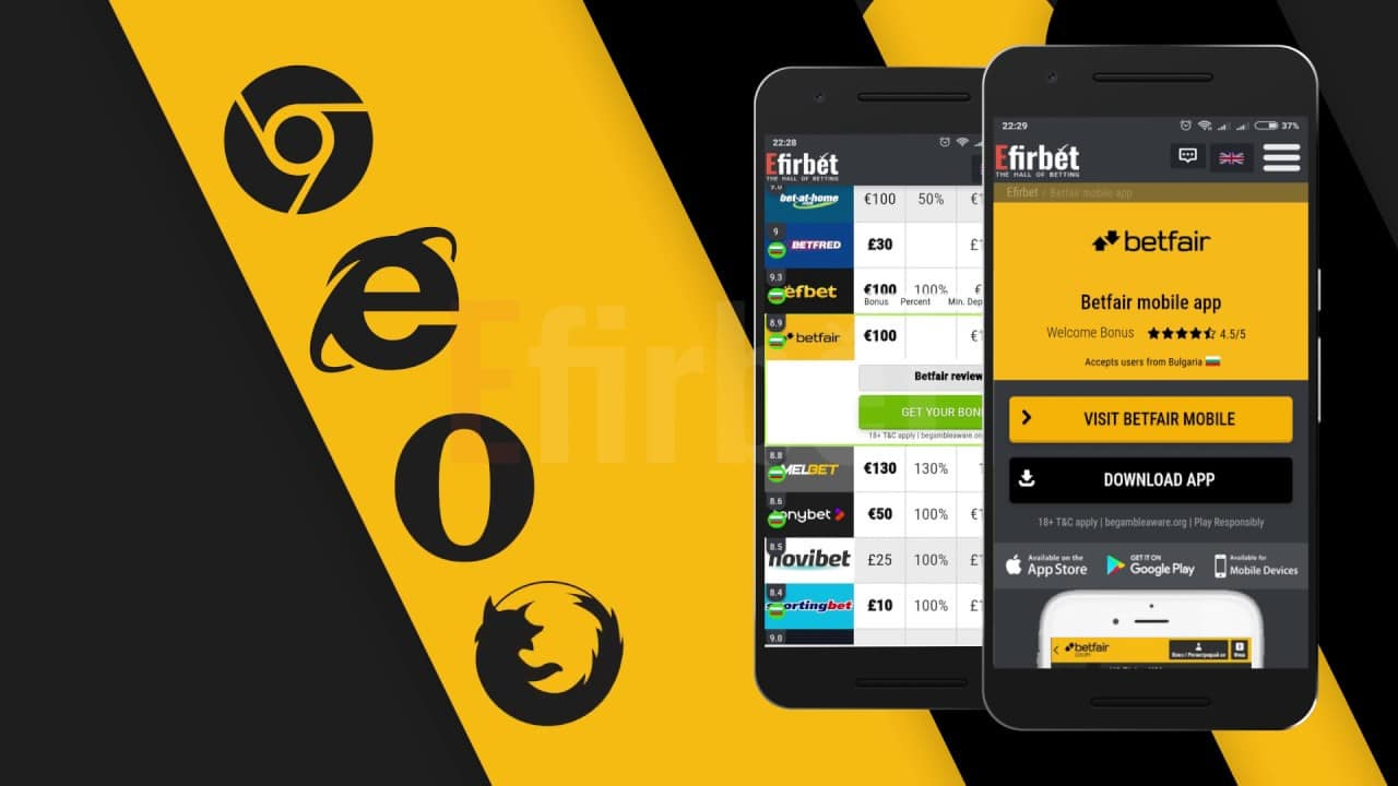 Betfair Mobile App and Mobile Site Review